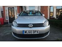 2010 VW GOLF PLUS SE 1.6 TDI AUTO DSG FVWSH 1 YEARS MOT FACELIFT