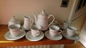 Italian bone China tea set