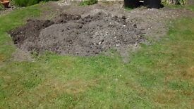 FREE GARDEN SOIL , WELCOME TO TAKE WHAT YOU WANT