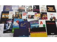 Collection of Musical Programmes Job Lot x 24 ~ Some with tickets