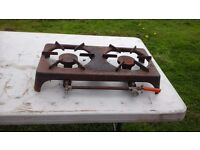 2 RING GAS BURNER LPG FOKER OF ITALY