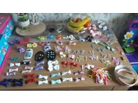 Hair bows/clips/bobbles hair bands