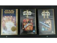 Starwars video tapes