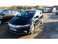 Honda Civic 1.8 i-VTEC EX Hatchback i-Shift 5dr