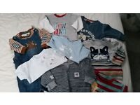 BABY BOYS bundle of clothes 3-6 months Quality Brands