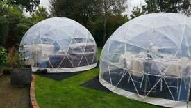 Igloo New boxed cover used poles