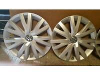 VW 17 inch wheel trims