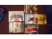 6 dvd's