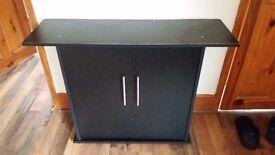 Juwel Riko aquarium fish tank black cabinet stand 3.5ft