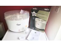Tommee Tippee Electric Steam Steriliser never been used