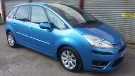 citroen c4 picasso 08 plate low mileage nice looking car