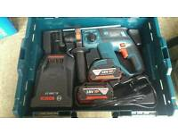 Bosch Gbh 18v-ec, 2 batteries 4ah, brand new