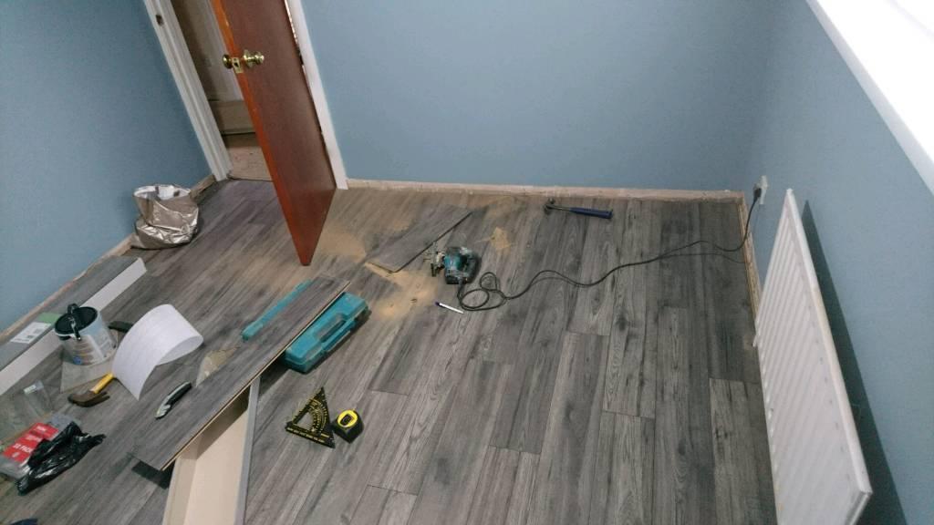 Laminate Flooring Wooden Flooring Fitting Insulation In