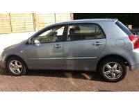 2003 TOYOTA COROLLA, ALLOY WHEELS, AIR CONDITIONING, FRONT AIR BAGS, ABS,