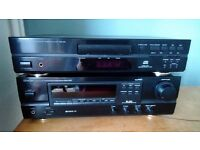 Denon Stereo Receiver and Compact Disc Player