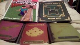 Five minecraft books