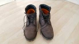 Brand new Timberland Dark Brown size 10 boots RRP 170