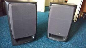 AIWA Stereo speakers, 40 Watt, Pair