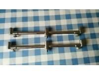 Carp fishing 3 rod adjustable stainless steel buzzer bars