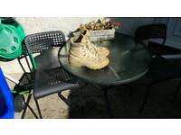 Army desert boots size 10