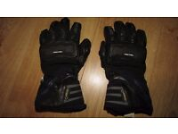 RICHA COLD PROTECT GTX GORETEX THERMAL MOTORCYCLE BIKE WATERPROOF GLOVES SIZE S