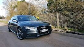 2012 FACELIFT AUDI A5 2.0 TDI S LINE BLACK EDITION STYLING FINANCE & WARRANTY AVAILABLE
