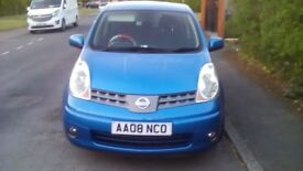 NISSAN NOTE 1.4 2008
