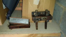 Antique wood working tools