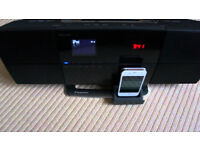 PIONEER X-SMC1-K. DVD PLAYER / CD PLAYER / ipod dock, with USB, HDMI