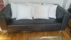 5 cushions with white cotton cover
