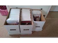 Hundreds of comic books
