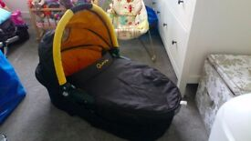Quinny Buzz Dreami Carrycot Yellow Excellent condition