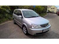 VERY TIDY KIA CARENS, CDI DIESEL, AUTOMATIC, FSH, NEW MOT, FULL LEATHER INTERIOR, AIRCON