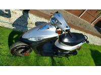 Sym dd50cc. Runs but needs work. Read notes before calling. Can deliver