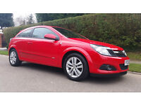 VAUXHALL ASTRA 1.7 CDTi 16v SXi Sport Hatch 3dr (red) 2008