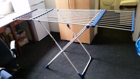 Two drying racks for sale. Foldable. Both together 14 quid