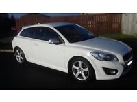 Volvo C30 R-Design Lux D2 Genuine low mileage. **Have a wee White Christmas**