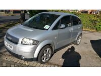 For Sale Audi A2 2004 Silver - Low Mileage - FSH. Priced 4 Quick Sale