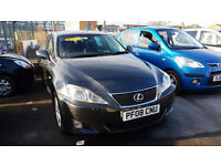 LEXUS IS 220 2008 113,000 MILES 2.2 DIESEL SALOON MANUAL GREY