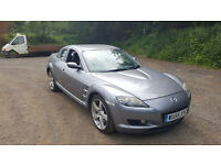 MAZDA RX8 192PS. FULL HISTORY. 65000 MILES JUNE 2017 MOT