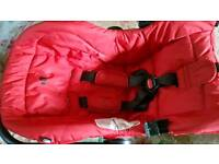 1st baby car seat isofix with base