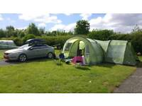 vango Keswick 600 Ltd and side porch