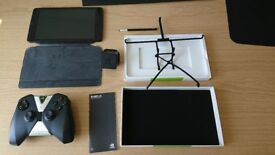 Nvidia Shield Tablet + Accessories