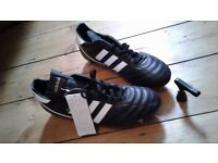 Brand new condition with tag Adidas Kaiser 5 stud football boots, Made in Germany, size UK9.5
