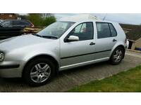 Golf 1.6 silver, excellent condition
