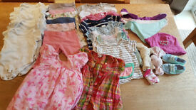 Baby Girl Clothes Bundle - 3-6 months