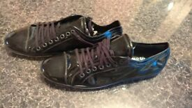 SWEAR LONDON new shine leather ONLY 18£!!!!! SIZE 43
