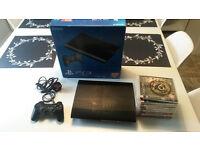 Sony Playstation 3 Super Slim 500GB Charcoal Black Console (CECH-4003C) Bundle