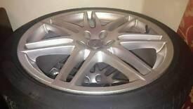 "Genuine audi wheels 19"""
