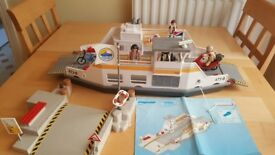 Playmobil 5127 Car Ferry with Pier 100% Complete With Instructions